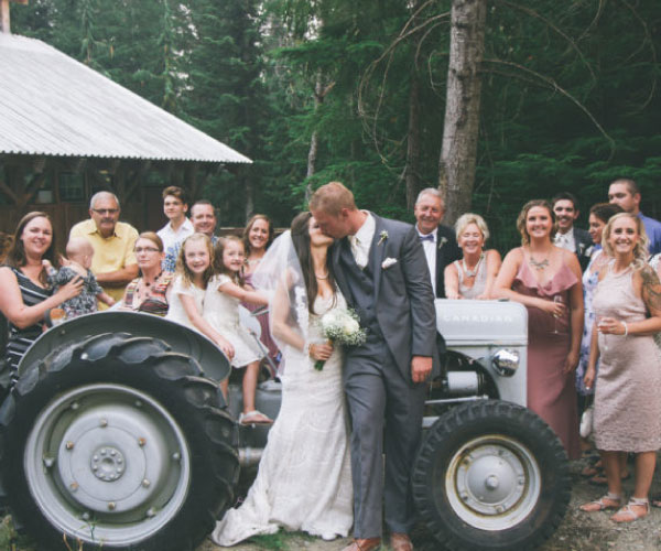 Wilderness Adventure Wedding